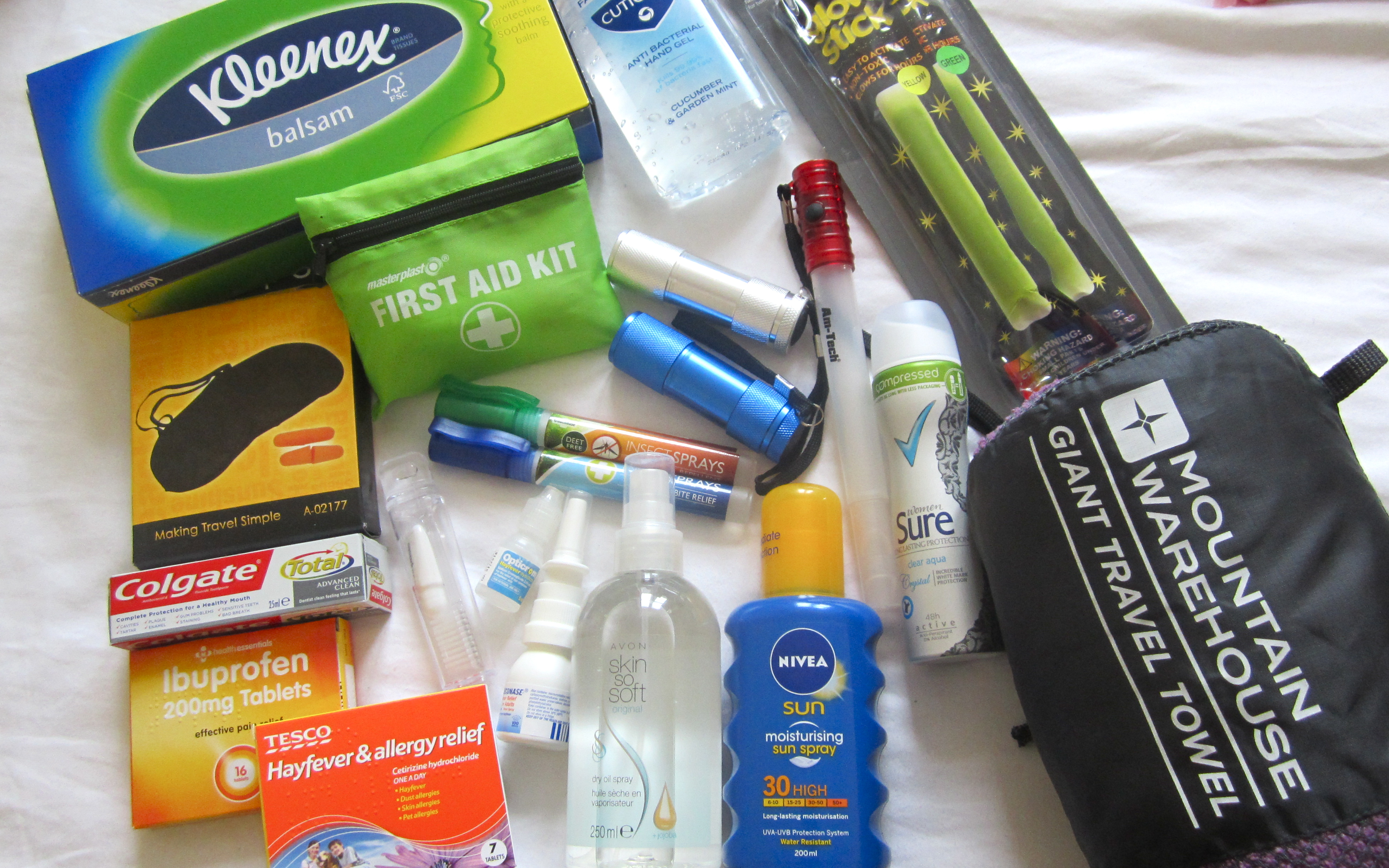 67872c3ae8ea Essentials, will include a First Aid Kit, incase of any small emergencies  you can solve them yourself. Ear plugs and an eye mask are also brilliant,  ...